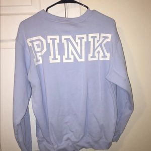 Blue VS Pink Crew Neck Sweatshirt